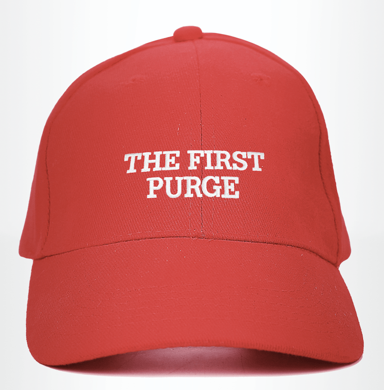 The First Purge cap