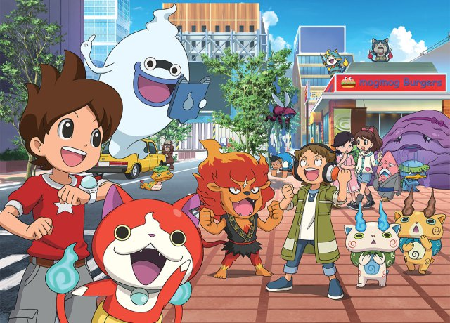 Level-5 toont screenshots en ontwerpen van Yo-kai Watch 4