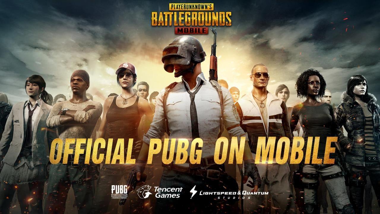 pubg mobile tencent games battle royale banner