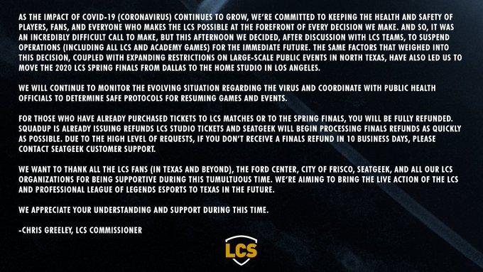 LCS CORONA