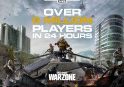 Call of Duty Warzone Schiet omhoog met 6 miljoen spelers