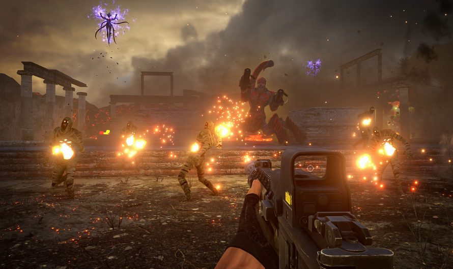 Nieuwe screenshots en trailers Serious Sam 4