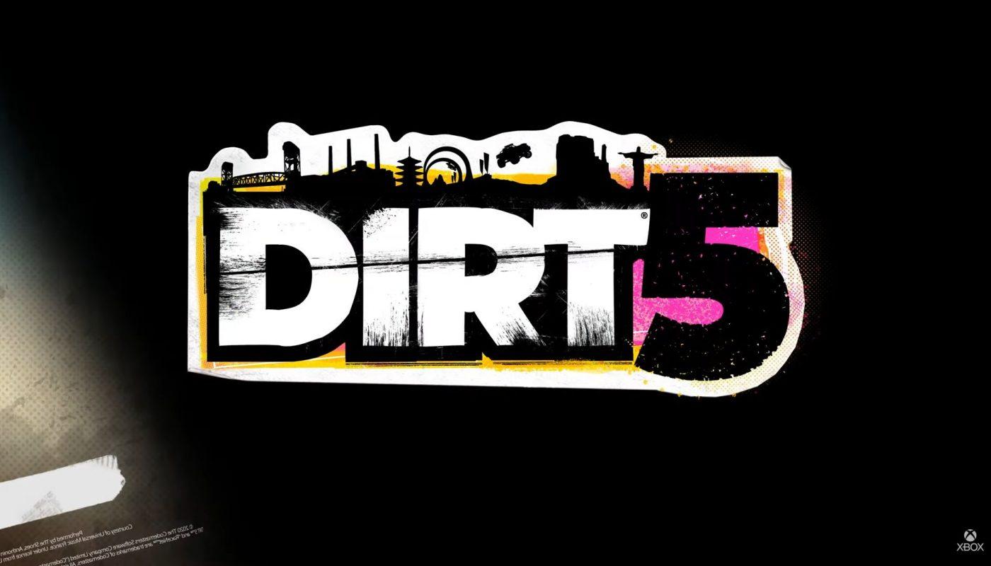 Dirt 5 Logo Reveal