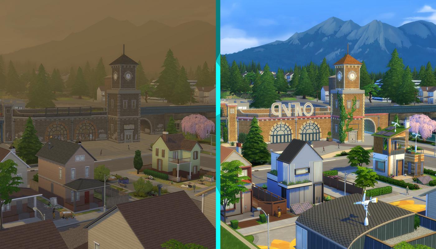 Eco Lifestyle Sims 4