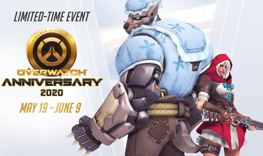 Het lopende Overwatch Anniversary Event!