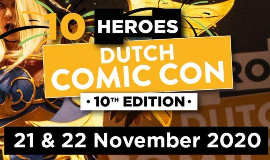 Heroes Dutch Comic Con verplaatst naar november