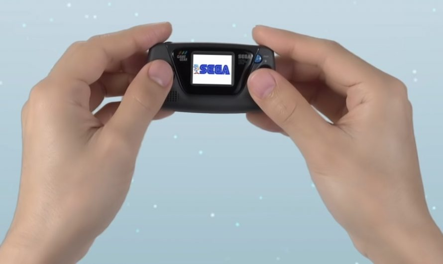 Sega kondigt Game Gear Micro aan
