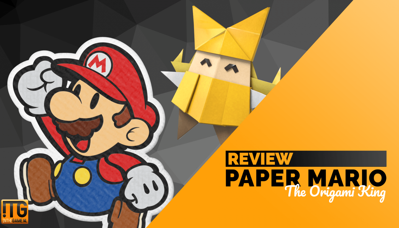 Paper Mario The Origami King review