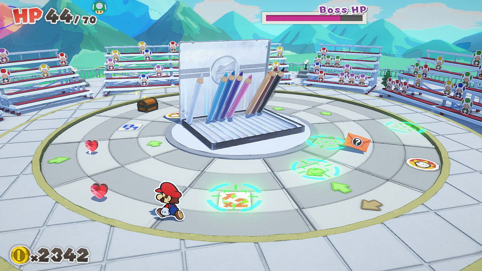 boss battle paper mario review