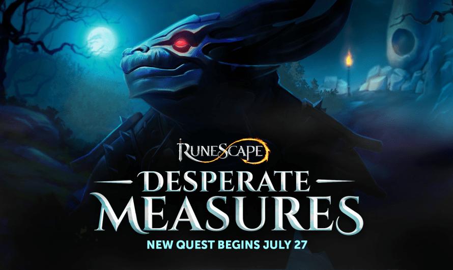 Desperate Measures: Een interview met de Runescape ontwikkelaar