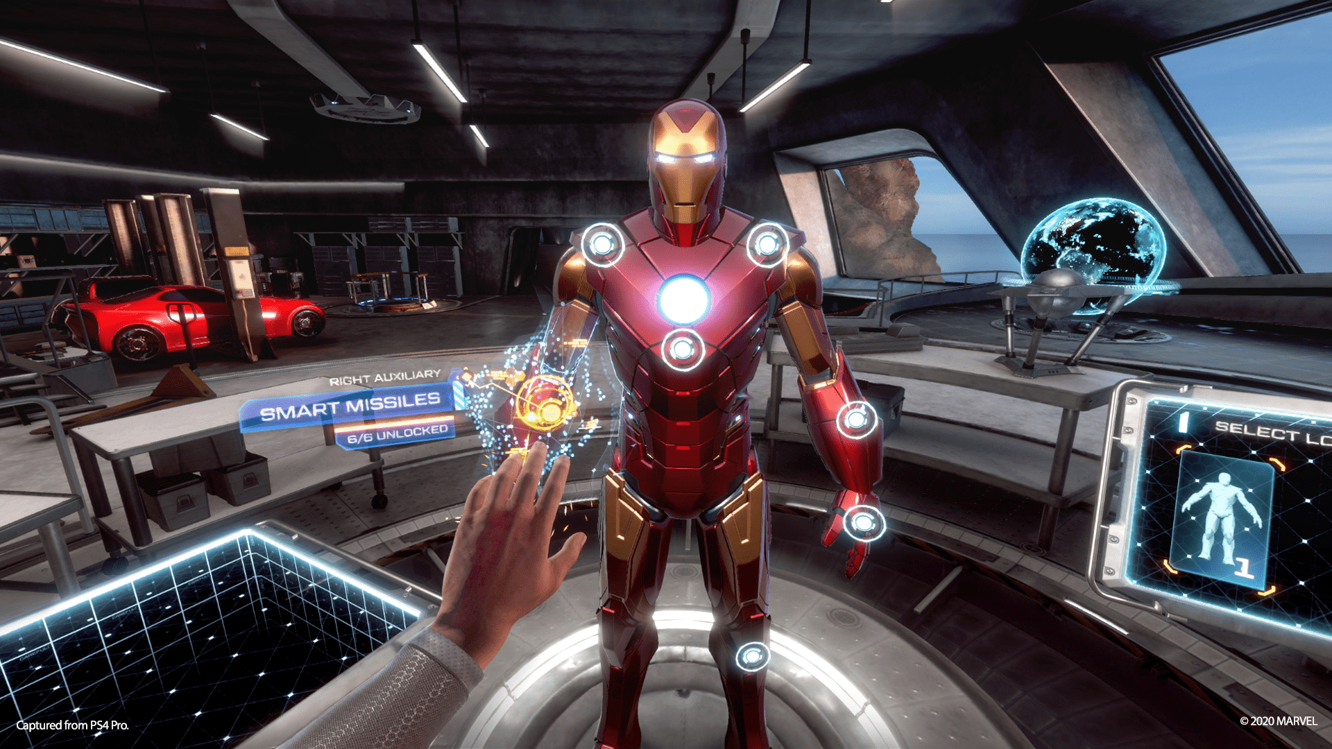 Suit Station Iron Man Vr