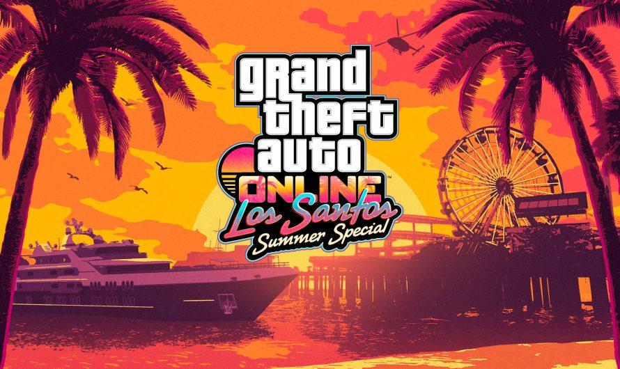 GTA Online komt met de Los Santos Summer Special!