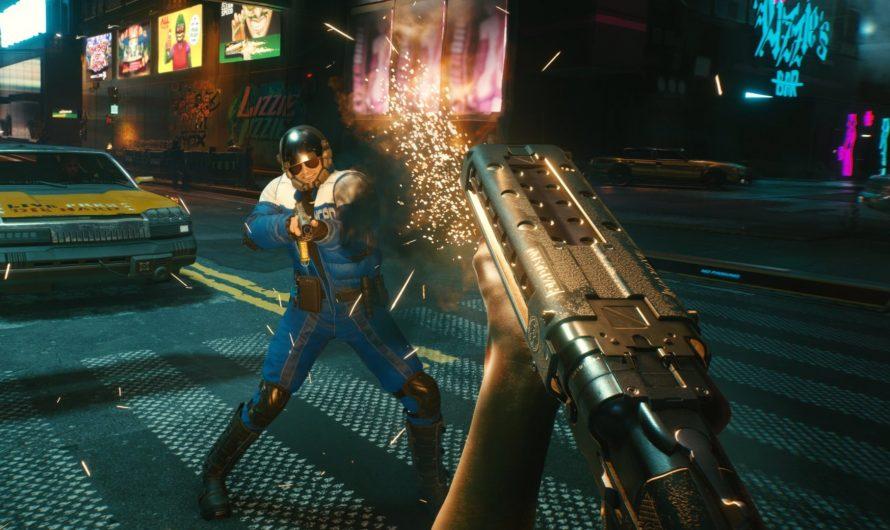 De wapens in Cyberpunk 2077