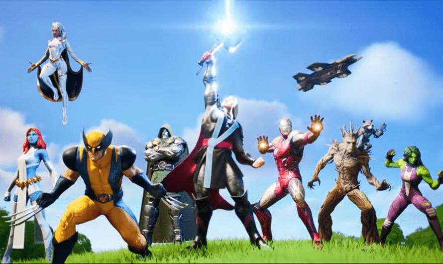 Fortnite seizoen 4 Battle Pass brengt Marvel helden