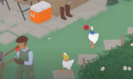 Untitled Goose Game coop