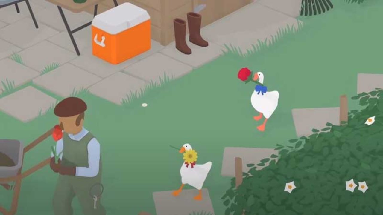 Untitled Goose Game coop