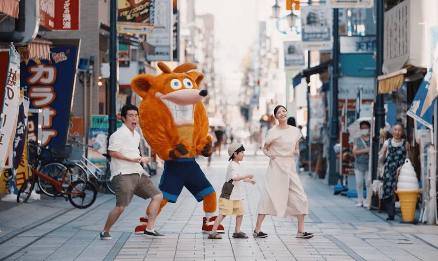 Crash Bandicoot 4 krijgt toffe Japanse commercial
