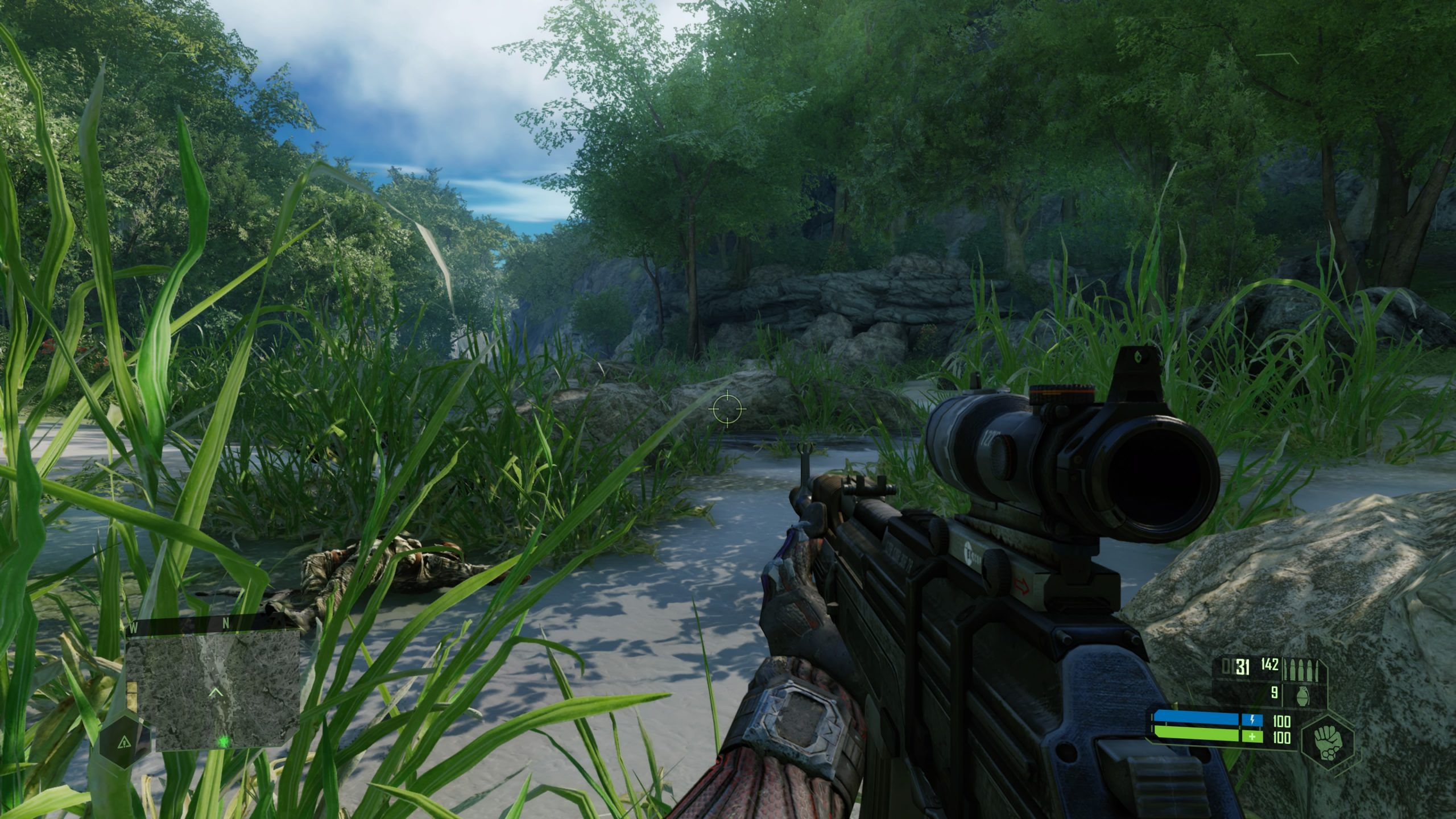 Crysis Reamstered PS4 Pro