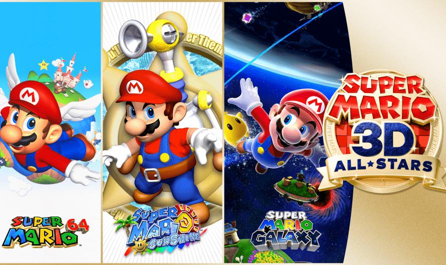 Super Mario 3D All-Stars deze maand naar Nintendo Switch