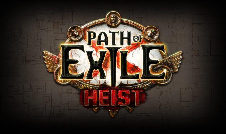Path of Exile krijgt een derde uitbreiding: Heist