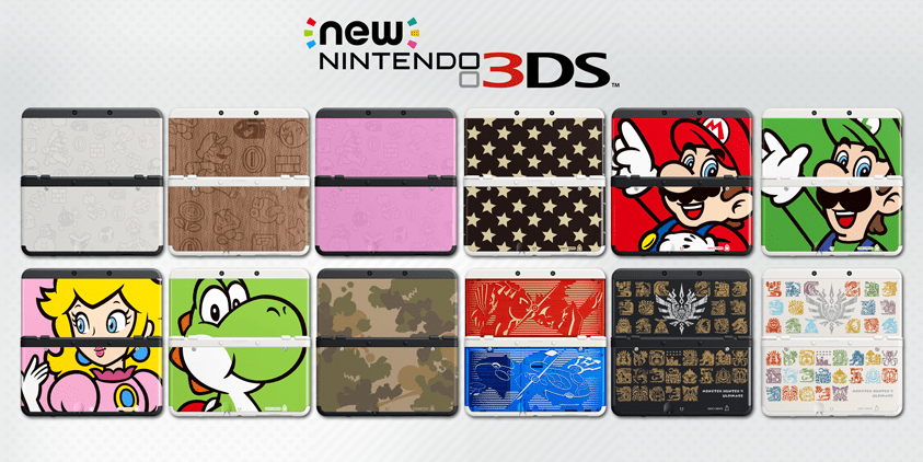3DS Faceplate