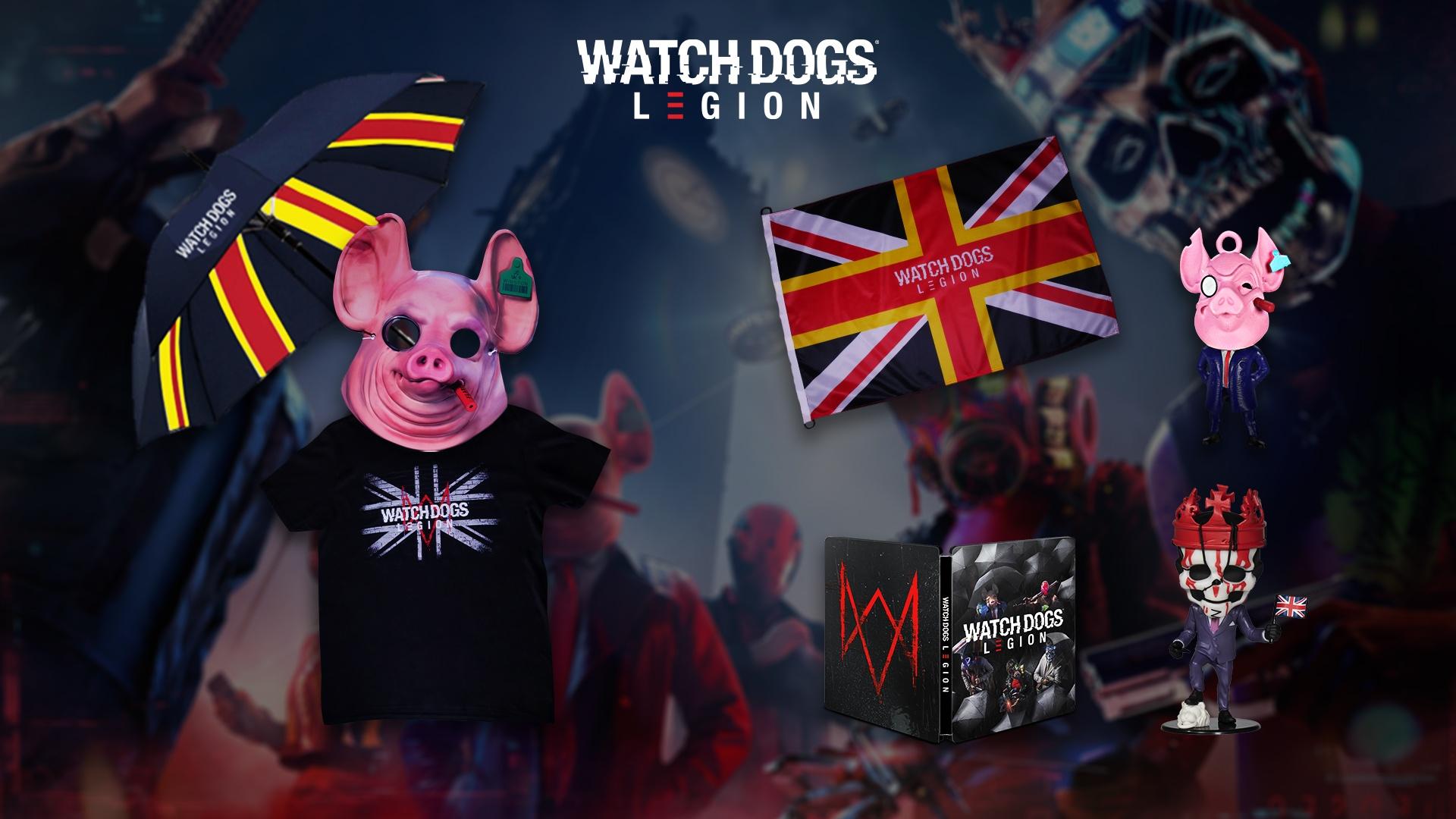 Watch Dogs Legion goodiepakket