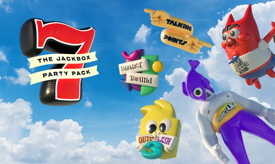 Party Pack 7 van The Jackbox  is nu uit
