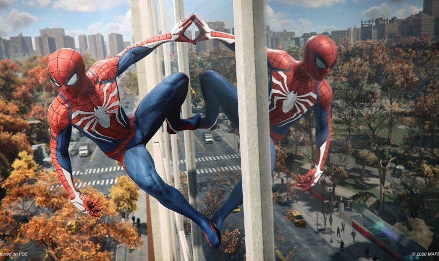 Spider-Man Playstation 4 VS Playstation 5
