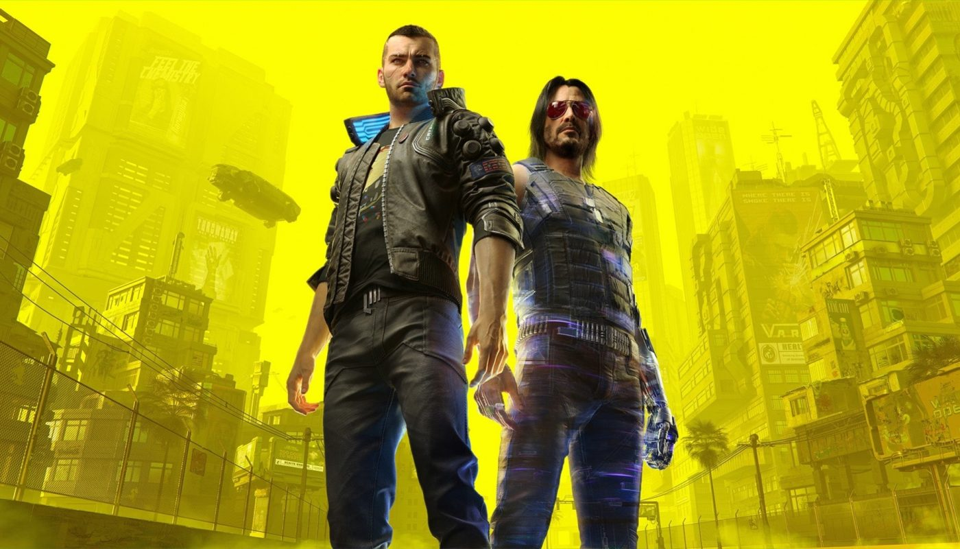 cyberpunk 2077 keanu and V