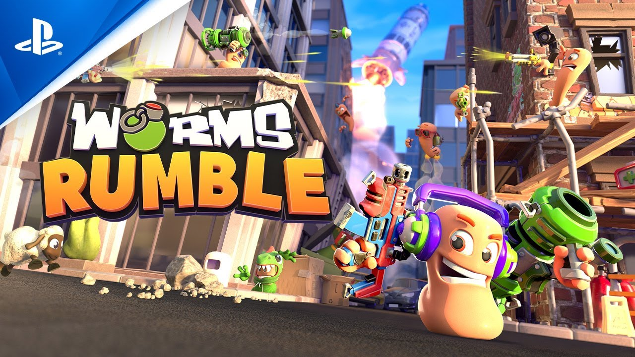 Worms Rumble Playstation Plus