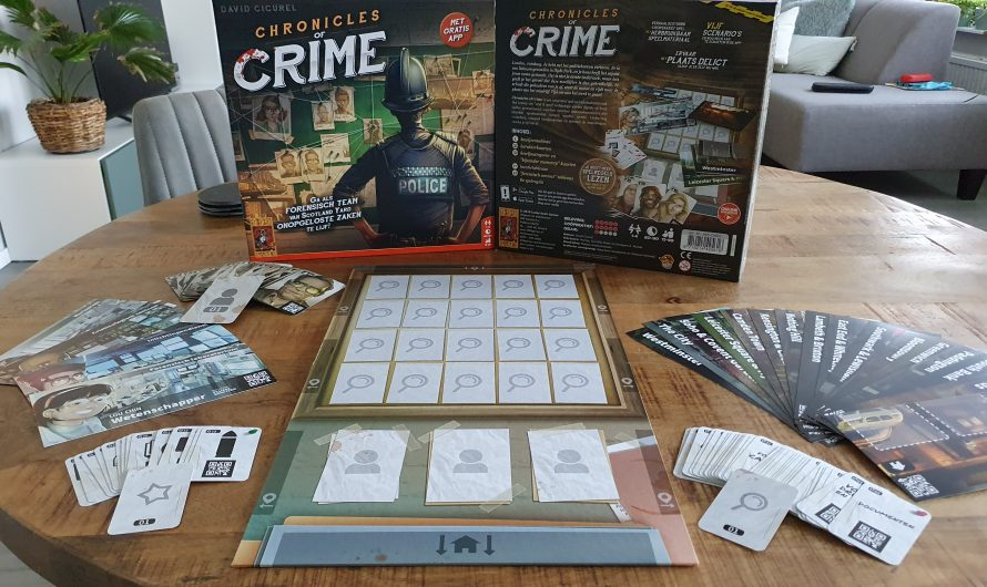 Chronicles of Crime, interactief bordspel met je mobiel