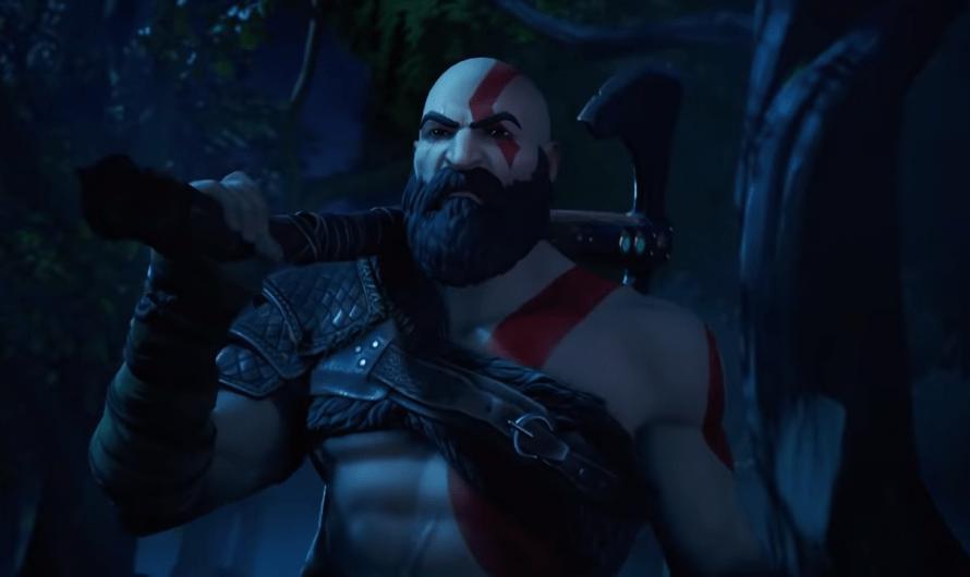 Kratos uit God of War nu ook in Fortnite