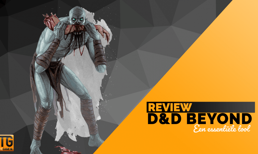 Review: DnDBeyond: Ideale tool voor Dungeons&Dragons
