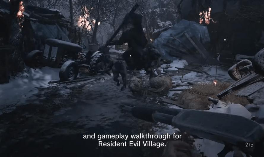 Resident Evil 8 toont gameplay en meer op 21 januari