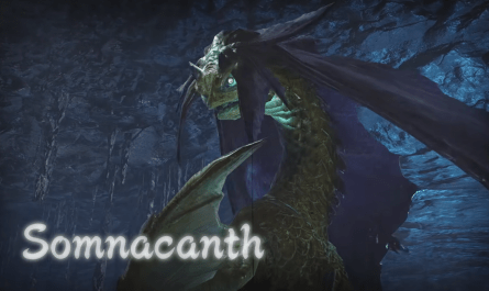 Somnacanth Monster Hunter Rise