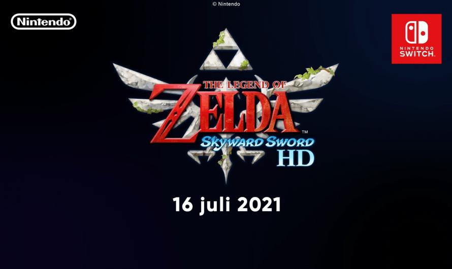 The Legend of Zelda: Skyward Sword HD naar Nintendo Switch!