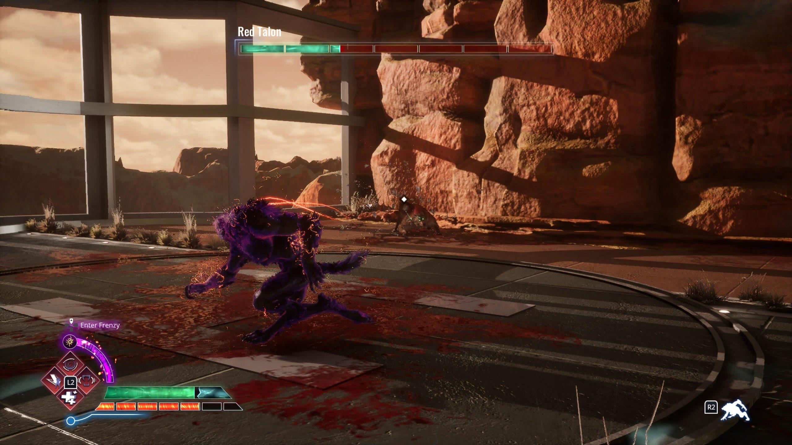 Werewolf Bossfight