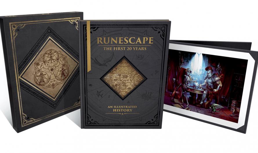 Later dit jaar: De 20 jarige geschiedenis van RuneScape in een boek!
