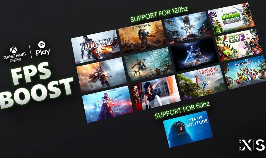 13 EA Games nu met FPS Boost op Series X en S