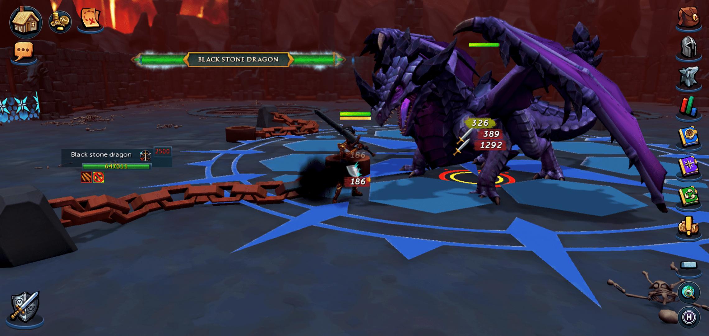 King Black Dragon RuneScape Mobile