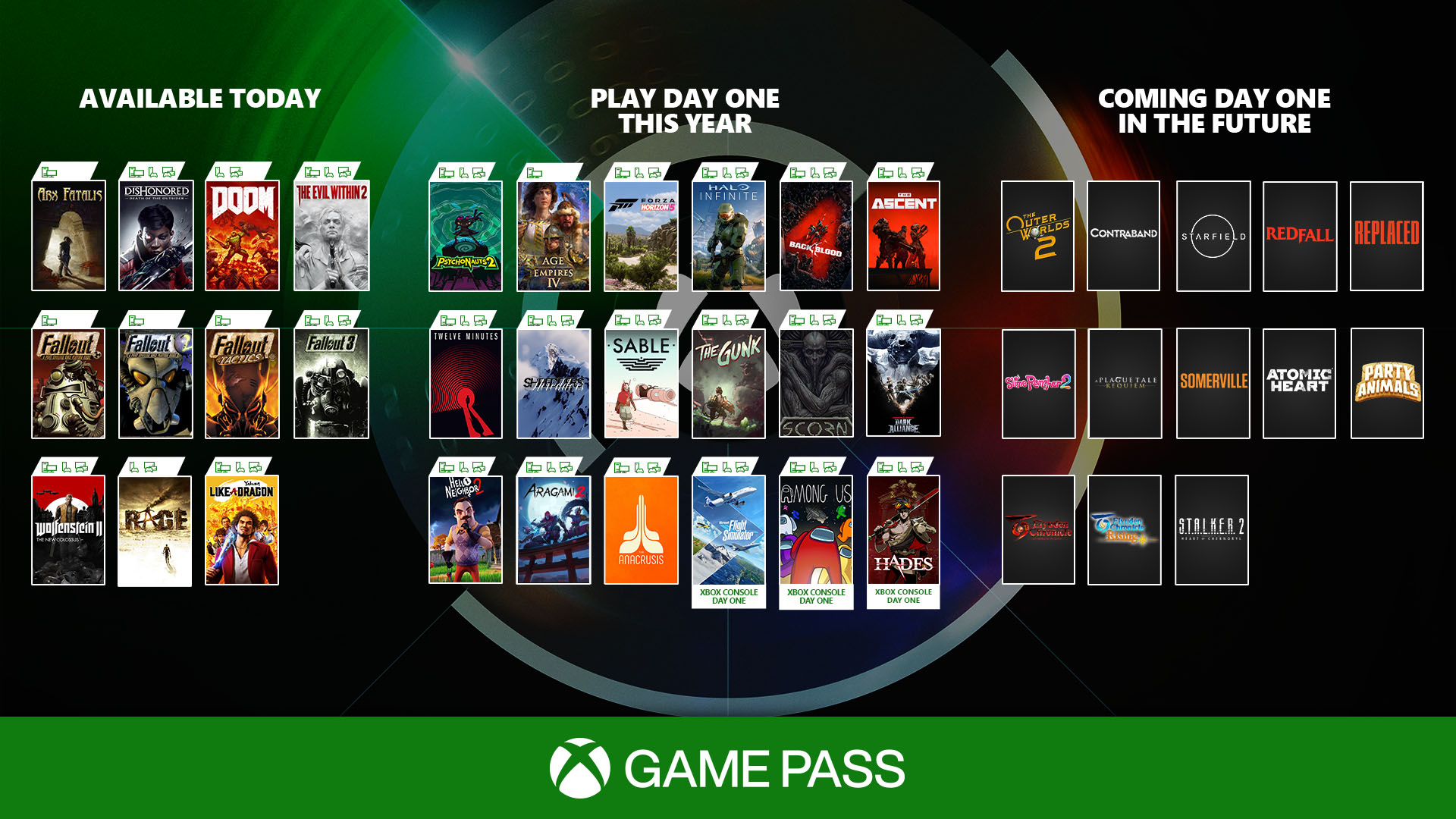 Day One Game Pass