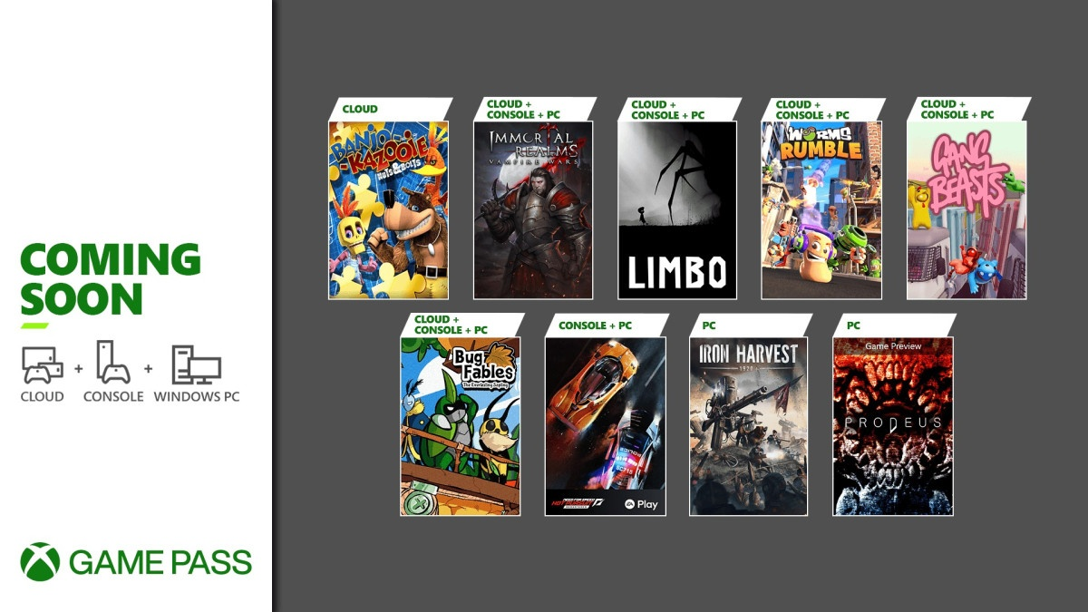 Game Pass june july
