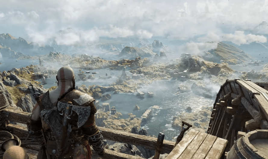 God of War Ragnarok toont eerste gameplay beelden