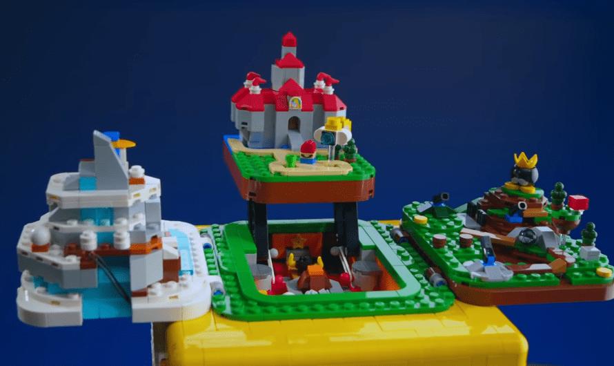 Super Mario 64 komt tot leven in LEGO vraagtekenblok