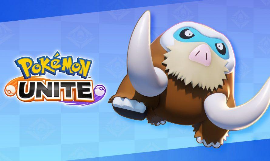 Mamoswine nu speelbaar in Pokémon Unite